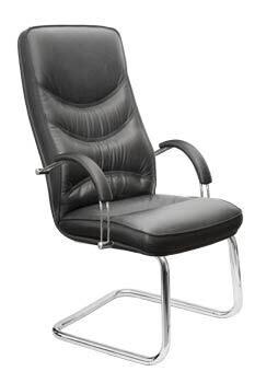 Кожаное кресло - реклайнер. . Кресло раскладываеться в три положения: сидя, полу-лежа, лежа, имееться механизм